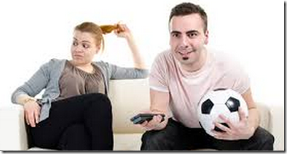 Sobredosis de tv y futbol