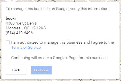 authorize your business on Google
