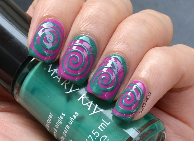 Mary Kay Paradise Calling Nail Lacquer Review Swatches