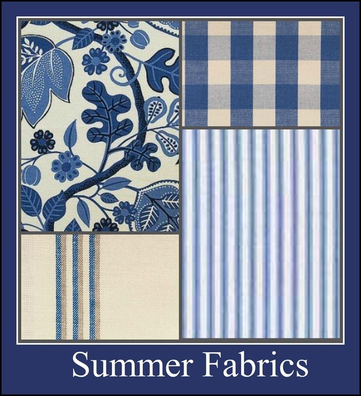 Ribbet collage Summer Fabrics