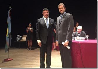 En la ciudad de La Plata, Juan Pablo de Jesús recibió su diploma como intendente electo