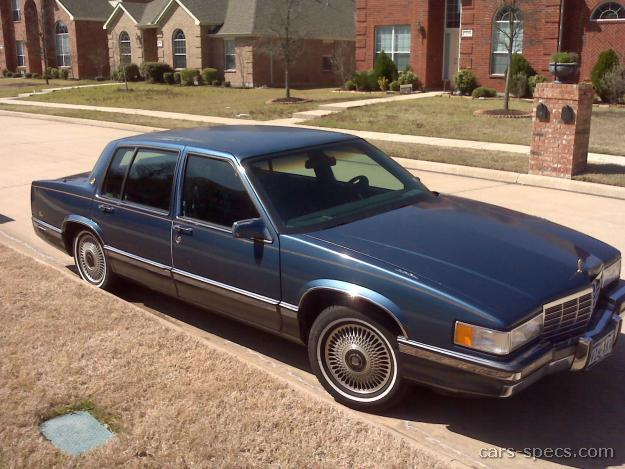 1992 cadillac deville sedan specifications pictures prices. Black Bedroom Furniture Sets. Home Design Ideas