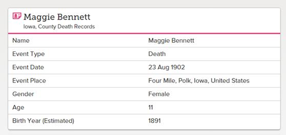 bennett_maggie_death_record