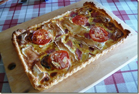 fridge bottom quiche