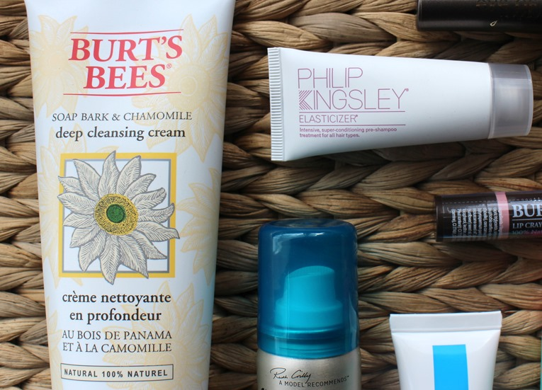 BurtsBees-Deep-Cleansing-Cream, PhilipKingsley-Elasticizer