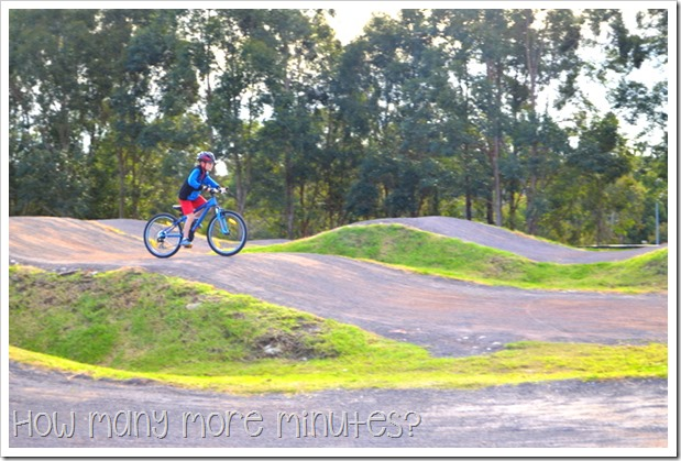 Sydney Olympic Park ~ How Many More Minutes?