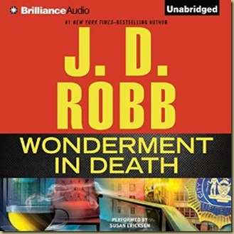 Wonderment in Death by J.D. Robb - Thoughts in Progress