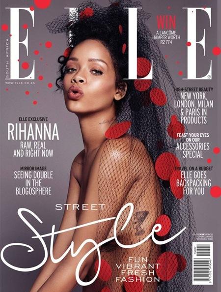 Rihanna - Elle SA July 2015