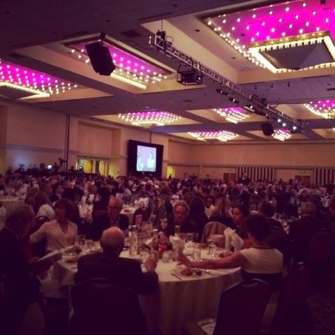 Seattle Sheraton Grand Ballroom, Fundraiser Luncheon - cultivatedrambler.com