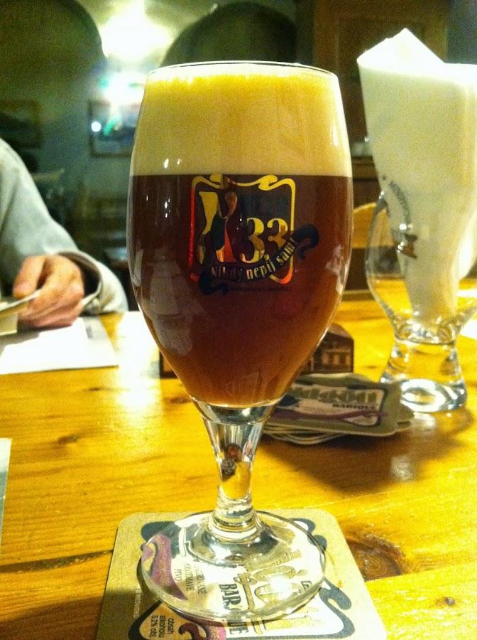 Пиво X-Beer 33 в фирменном бокале