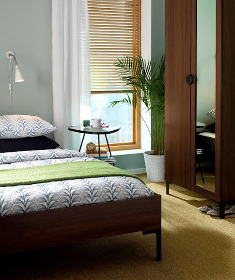 Komplettes Schlafzimmer für weniger als 599€ IKEA www.dekomilch.de