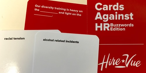 Our diversity training is heavy on the <racial tension> and light on the <alcohol related incidents>.
