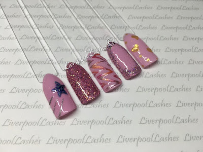 liverpoollashes liverpool lashes cnd shellac mauve maverick nail art ideas