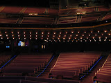 Looking out at the audience from the Grand Ole Opry stage in Nashville TN 09032011
