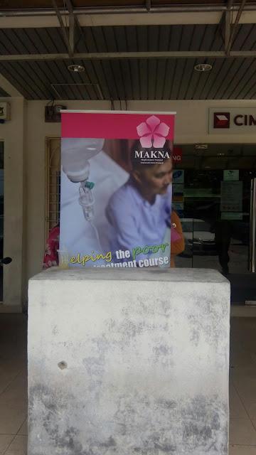 MAKNA membantu mengumpul dana pesakit kanser