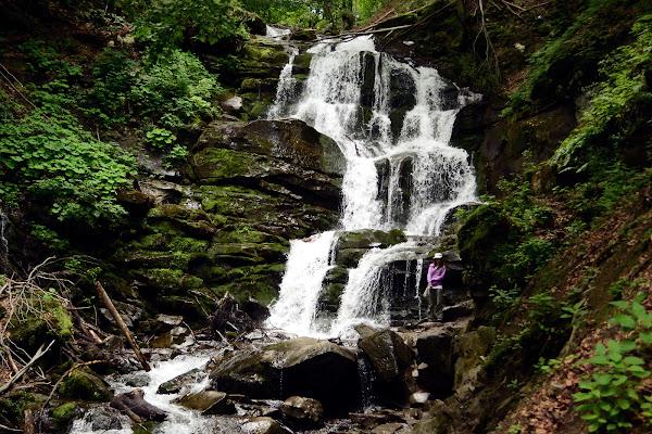 водопад шипот карпаты