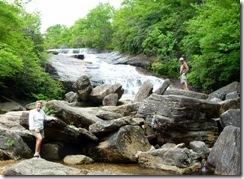 Syl and Dan at Second Falls