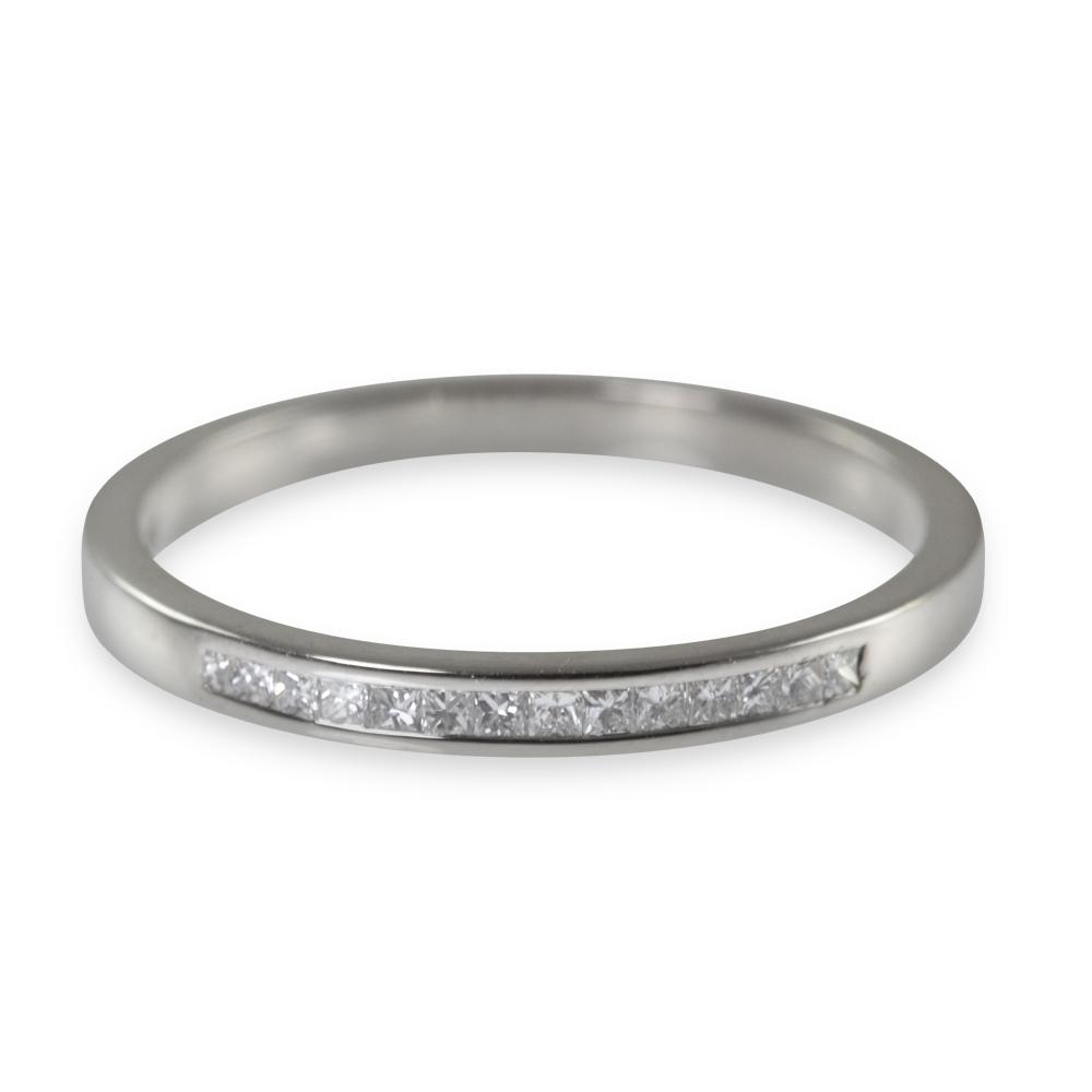 Cut Diamond Wedding Ring