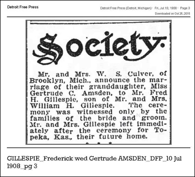 Copy of GILLESPIE_Frederick_wed_Gertrude_AMSDEN_DFP_10_Jul_1908_pg_3