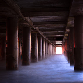 by Steven C. Bloom - Landscapes Waterscapes ( waves, pier, beach )