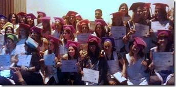 Más de 200 jóvenes obtuvieron su título de educación superior