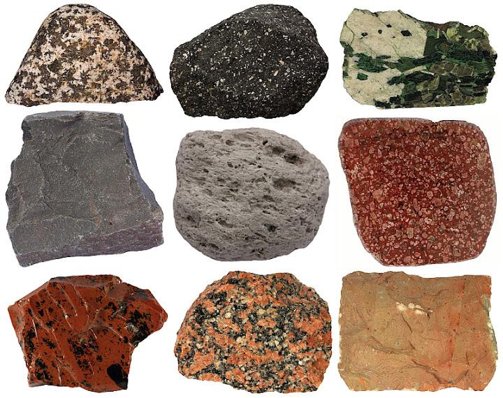 Rocks igneous types of Igneous Examples: