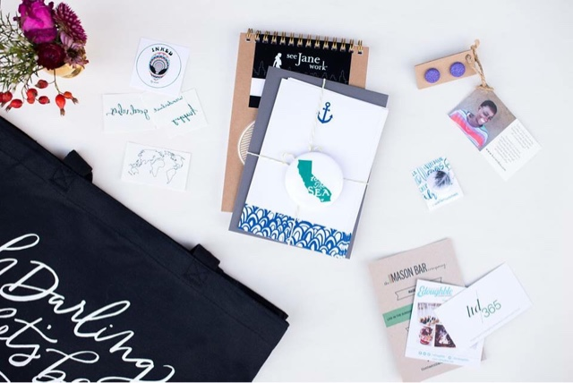LA Social Studio Shop swag bags