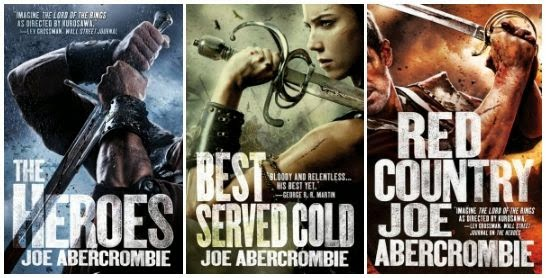 Joe Abercrombie, First Law, Primera Ley, red Country, tierras rojas, , los hereos, the heroes, best served cold, la mejor venganza, Crying Grumpies