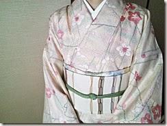 小紋に名古屋帯でお茶会に (11)