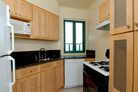 parkchester condominium kitchen