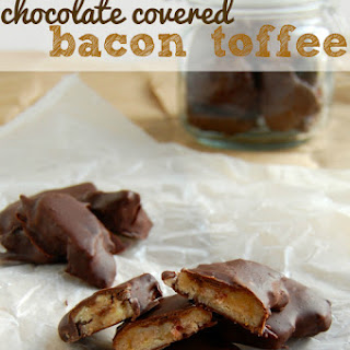 Chocolate Covered Bacon Toffee (aka Bacon Crack!)