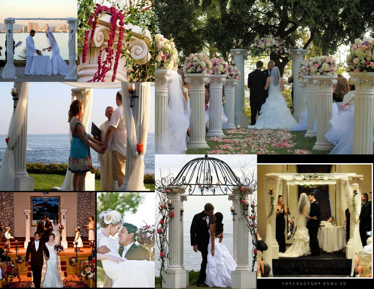 Venetian Wedding Arch and