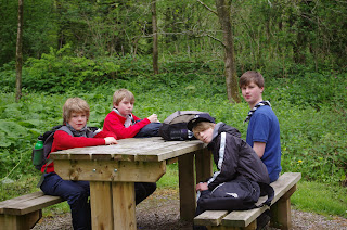 Rest stop - some catching up on sleep already