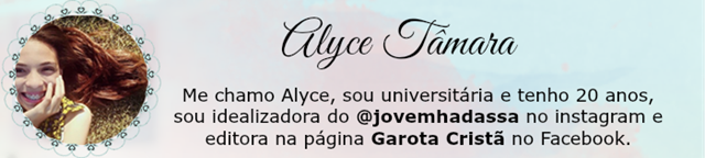 assinatura Alyce oficial