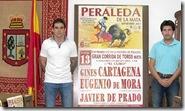 foto presentacion cartel peraleda 2015
