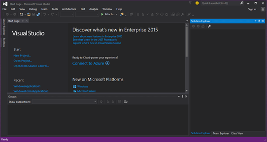 Free Download Microsoft Visual Studio Enterprise 2015