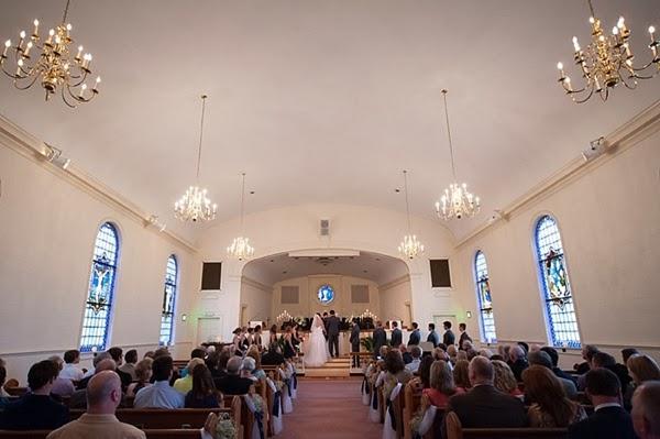 Navy Blue Suffolk Planter S Club Wedding By Beth Hamilton