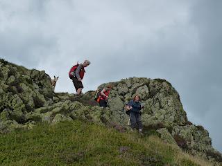 Descending Birk Fell