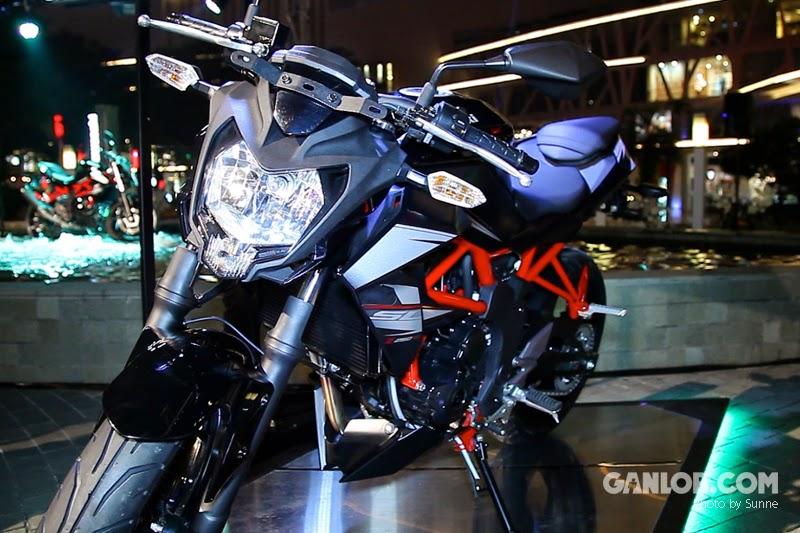 Kawasaki Z250SL - Spesifikasi Lengkap dan Harga