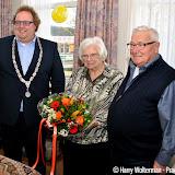 Echtpaar Rave uit Nieuwe Pekela 65 jaar getrouwd - Foto's Harry Wolterman