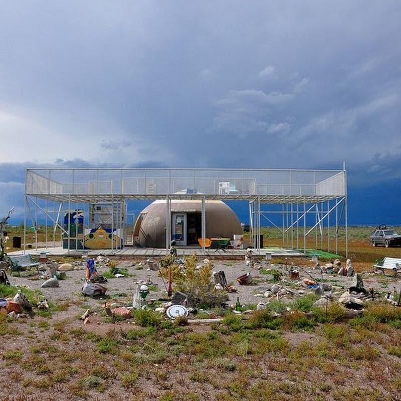 The UFO Watchtower in Hooper, Colorado