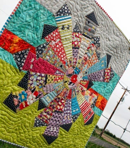 Gardenvale Dresden Neighborhood Quilt