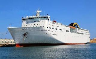 Transport maritime à Oran durant la saison estivale, L'ENTMV affrète le ferry grec «Elyros»