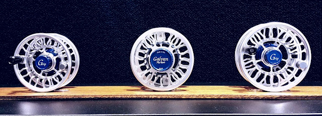 The Suburban Angler - Galvan Grip Reel