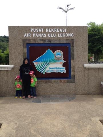 Pusat Rekreasi Air Panas Ulu Legong Hot Spring Best di Baling Kedah