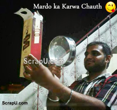 Funny Element of Karva Chauth Pictures