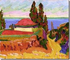 Auguste-Herbin-Corsican-Landscape