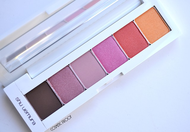 Shu Uemura Haute Street Warm x Vibrant Eye Shadow Palette Review Swatches (3)