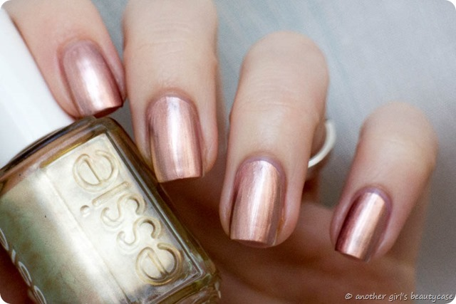 LFB Kupfer Copper Rose Gold Nails Penny Talk Essie Swatch-3