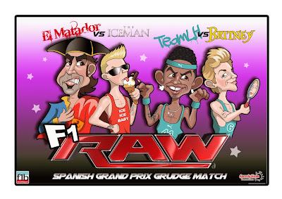 Забойный реванш - комикс SpeedyHedz по Гран-при Испании 2014